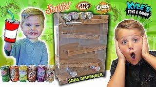 DIY Soda Dispenser Coca Cola Vending Machine