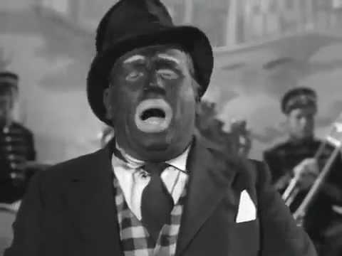 Minstrel Show Blackface Stump Speech