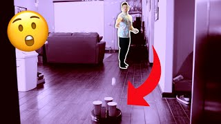 13 Household TRICK SHOTS | Smile Squad