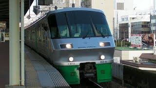 JR九州783系(4+4両)佐賀駅を出発