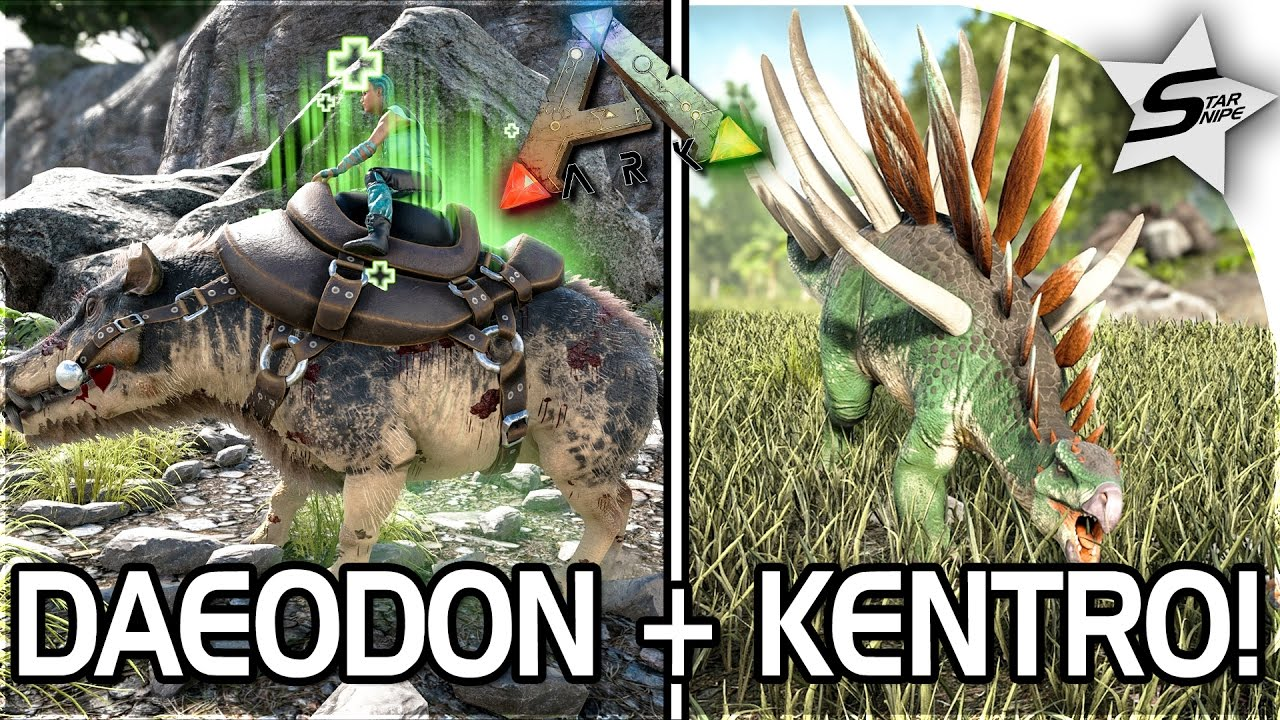 HOW TO HEAL WITH DAEODON + TAMING, KENTROSAURUS TAMING in ARK Survival  Evolved - ARK NEW UPDATE 257