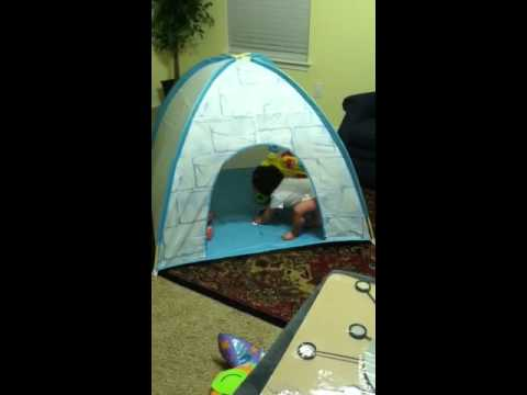 & Igloo tent - YouTube