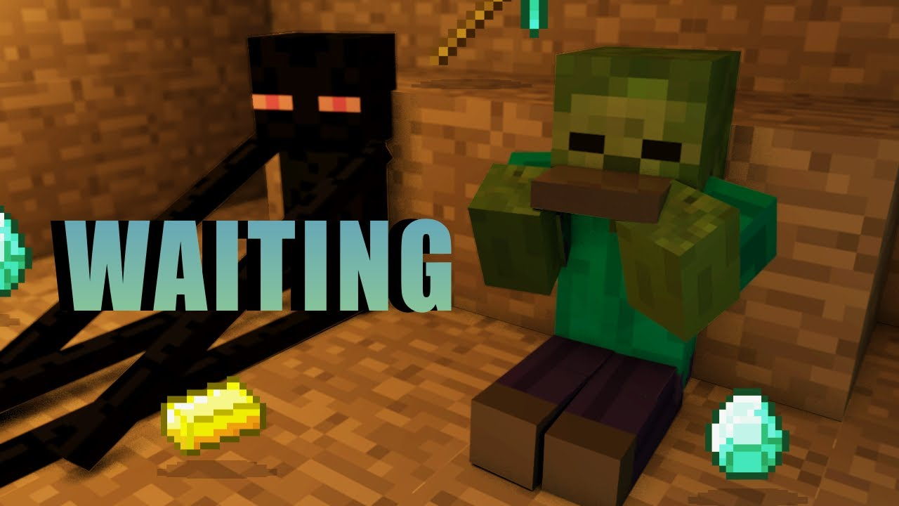 3d Animations Wallpapers Gif Waiting Minecraft Animation Slamacow Youtube