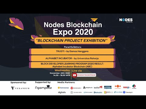 Nodes Blockchain Expo 2020: Blockchain Project Exibition