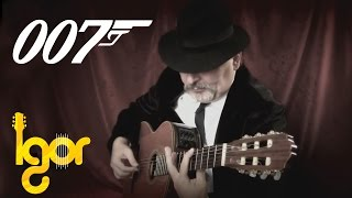 James Bond 007 Movie Theme Song - fingerstyle guitar