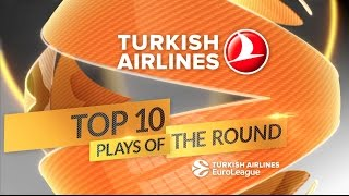 Turkish Airlines EuroLeague Round 4 Top 10 Plays