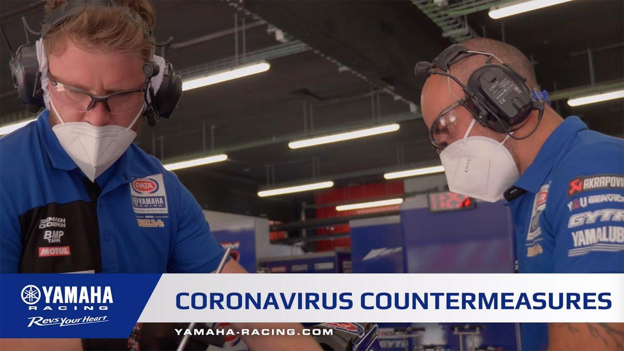 Pata Yamaha Coronavirus Countermeasures
