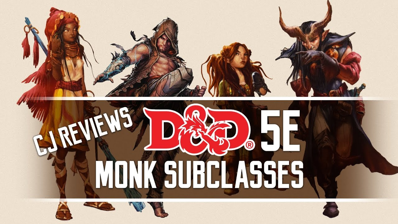 Sun Soul, Long Death, Kensei & Drunken Master Dungeons and Dragons 5e Monk  Subclass Review