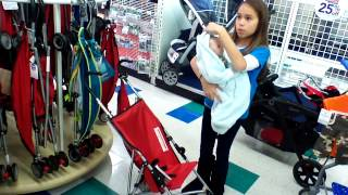 Reborn Baby Shopping for a Stroller at Babies r Us