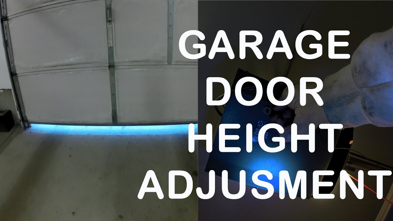 Garage door travel limit adjustment youtube garage door travel limit adjustment rubansaba