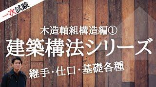 木造軸組構造編①_インテリアコーディネーター講座[1次試験]