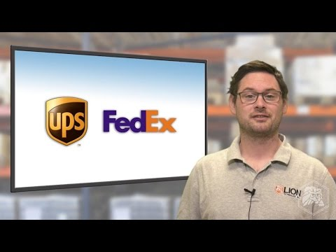New FedEx And UPS Lithium Battery Rules