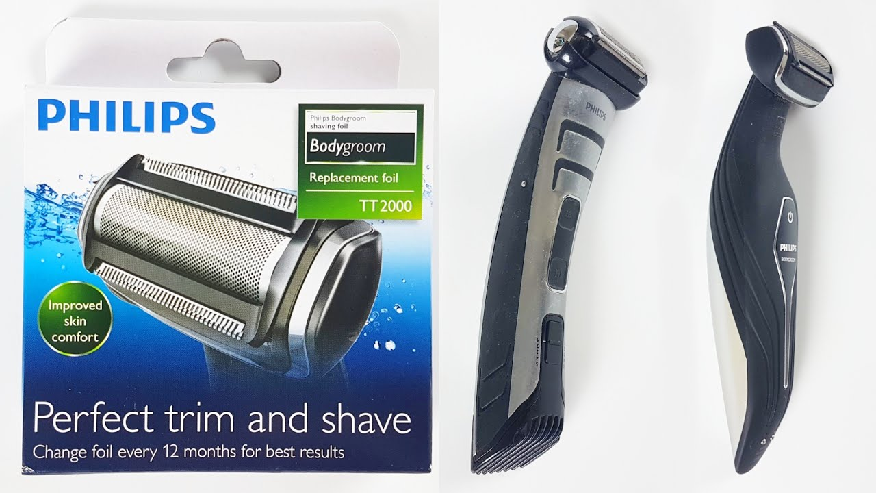 How To Replace Philips Bodygroom Replacement Trimmer