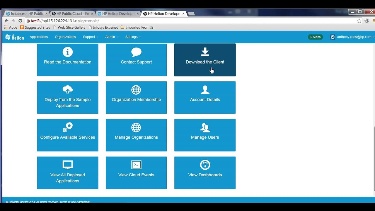 How to Install the HP Helion Developer Platform ALS Cloud Foundry ...