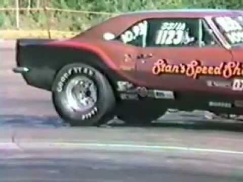 Atlantic Dragway, Pennfield NB, Juin 1983