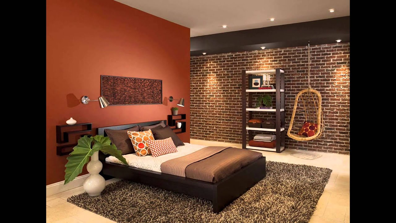 Delightful And Cozy Bedrooms Bathroom S With Brick Walls - Bedrooms brick walls
