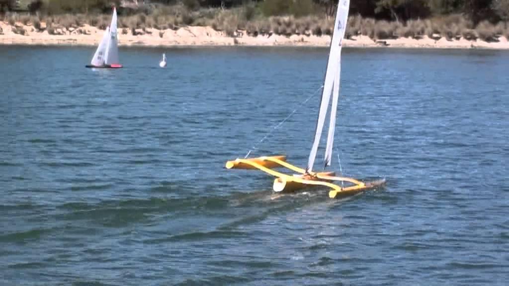 Mini40 Rc Multihulls Sailing In Perth Western Australia