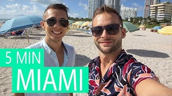 Miami in 5 Minuten 🌴Highlights in Miami Beach und Stadt in Florida
