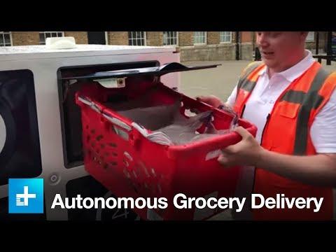 Autonomous Grocery Delivery by Oxbotica and Ocado