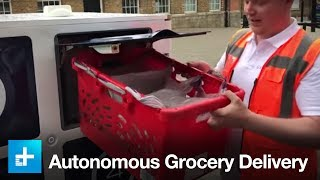 Autonomous Grocery Delivery by Oxbotica and Ocado