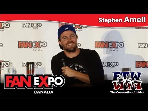 Stephen Amell Feat. David Ramsey (Arrow) - FAN eXpo Canada 2017 Panel