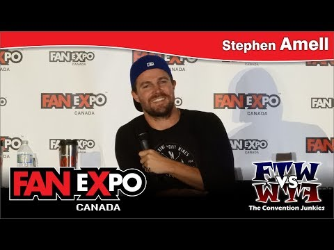 Stephen Amell Feat. David Ramsey Arrow   eXpo Canada 2017 Panel