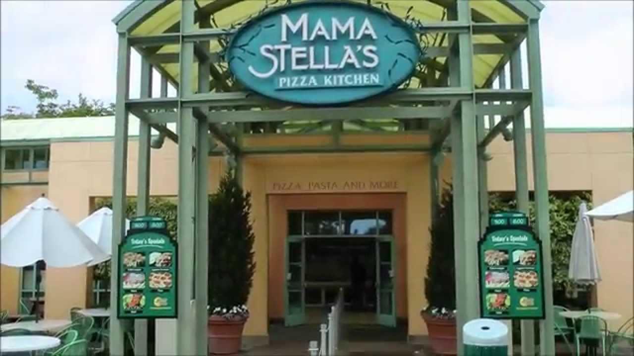 Mama Stellas Pizza Kitchen SeaWorld San Diego  YouTube