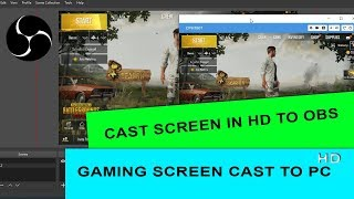 Screen stream mirroring obs open broadcaster software