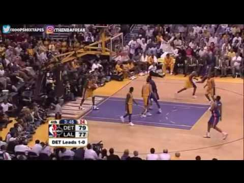 2004 NBA Finals - Pistons @ Lakers - Game 2 Best Plays