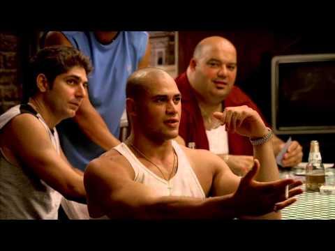 The Sopranos - Tony beats Perry Annunziata