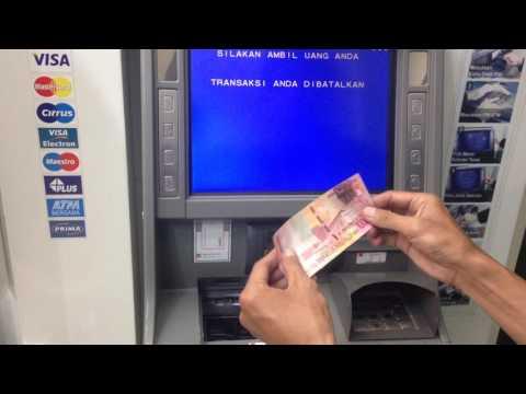 Cara Setor Tunai di ATM