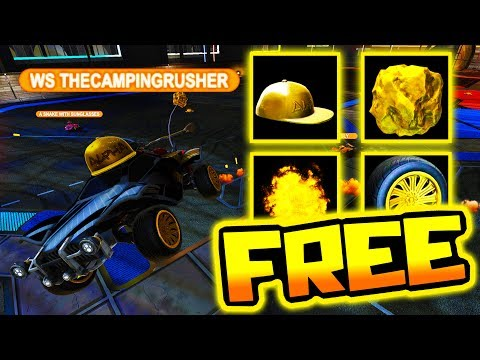 EASY WAY TO GET FREE ALPHA ITEMS!! ( Rocket League )