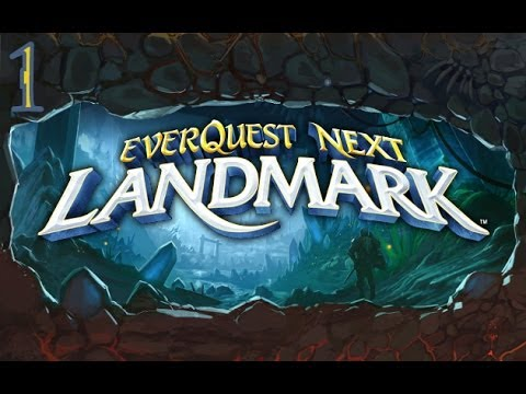 Everquest Next: Landmark Gameplay