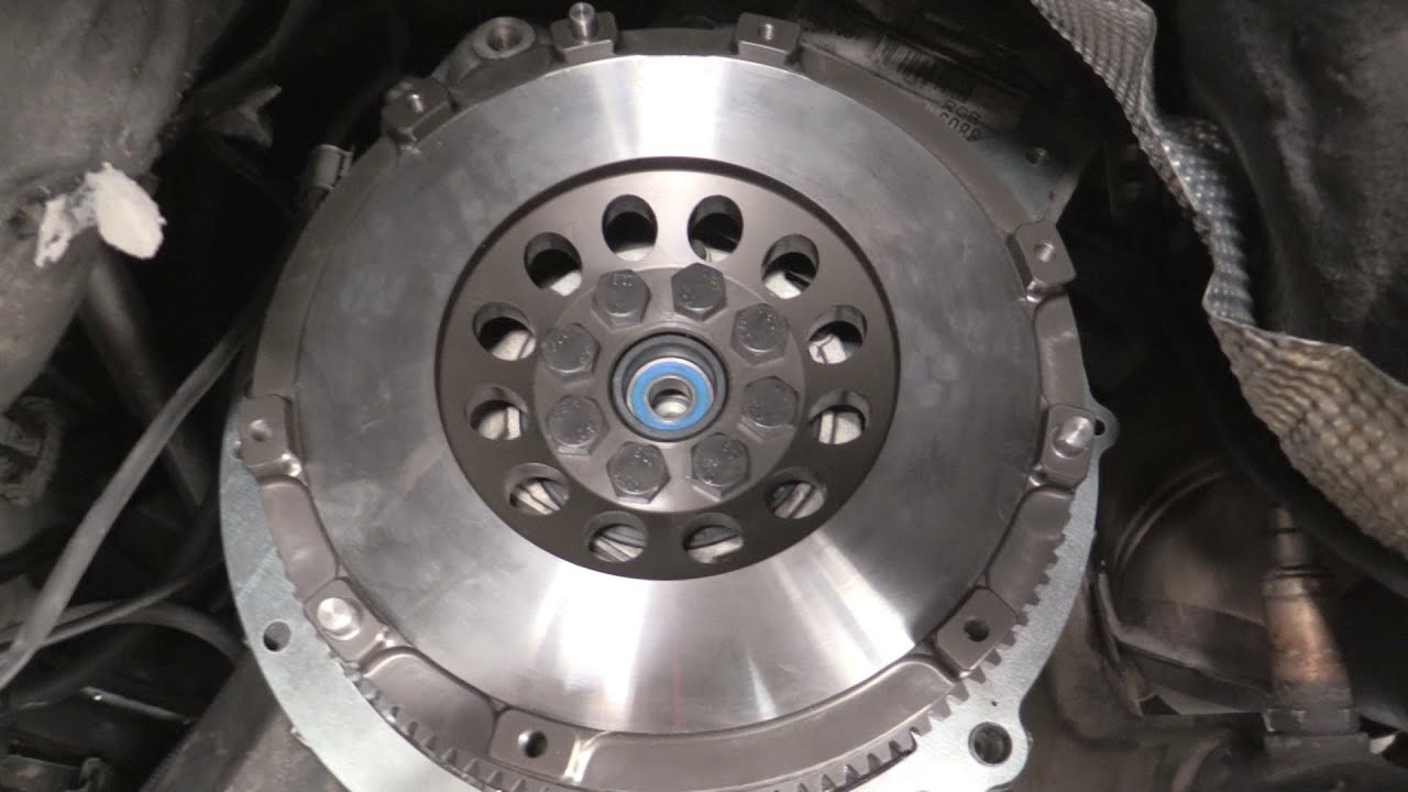 E46 Single Mass Flywheel Amp Clutch Swap Youtube