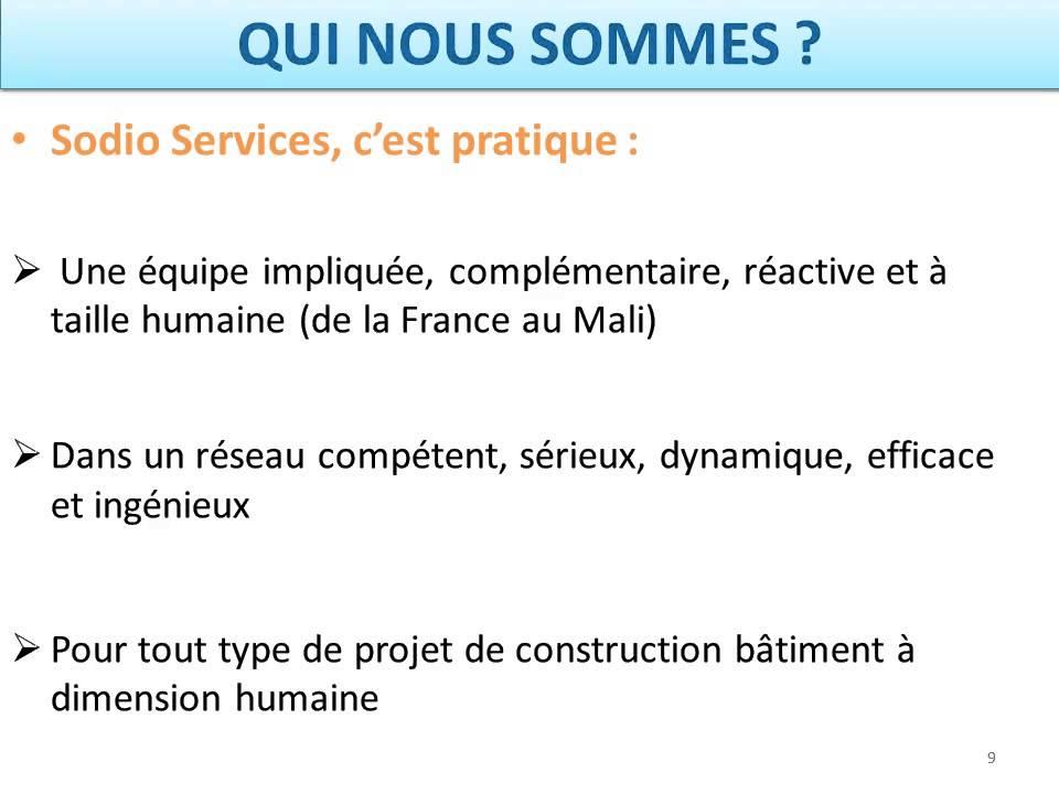 Construire Sa Maison Au Mali Avec Sodio Services  Youtube