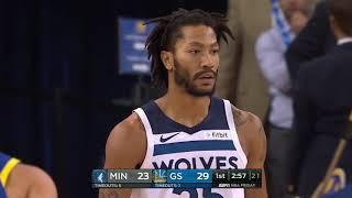 Minnesota Timberwolves vs Golden State Warriors : November 2, 2018