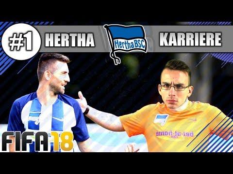 FIFA 18 Trainierkarriere #1 HERTHA BSC - ES GEHT LOS! #hahohe
