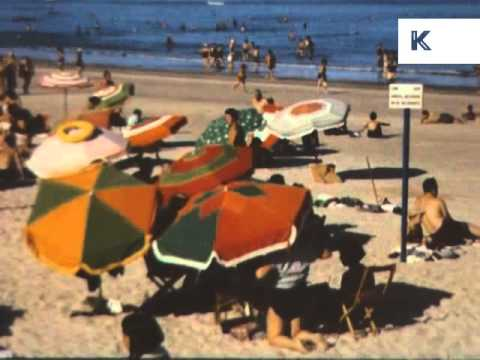1950s, 1960s Uruguay Travelogue, Colour Archive Footage