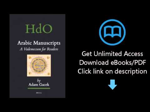 Download Arabic Manuscripts (Handbook of Oriental Studies) PDF