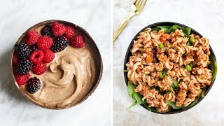 What I Eat in a Day | High Protein Meal Ideas (105g Vegan Protein!)