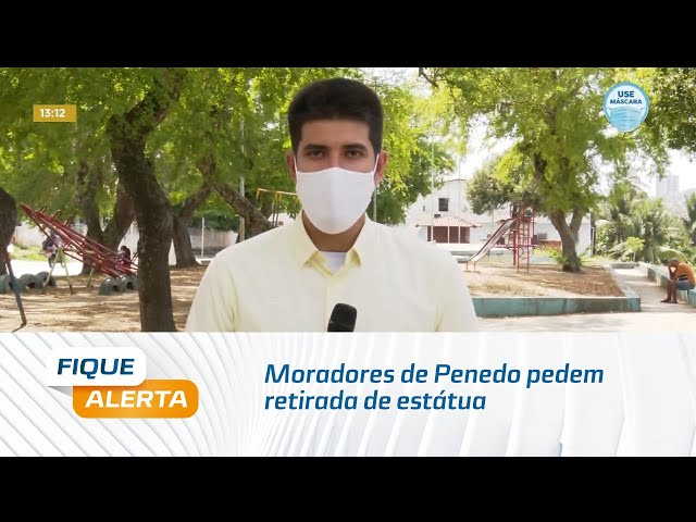 Moradores de Penedo pedem retirada de estátua do digital influencer Carlinhos Maia