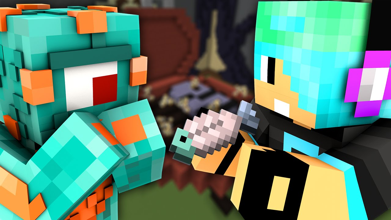 COOKED FISH?! | Minecraft Build Battle w/ Chad! - YouTube