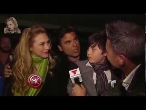 Aracely Arámbula ★ Sebastian Rulli y su familia vieron La ...