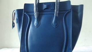 Celine handbag,Celine Luggage Bag Blue - Tophandbaguk.com Thumbnail