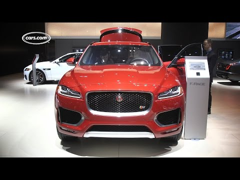 Beautiful 2017 Jaguar FPace  First Look  YouTube