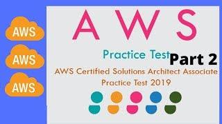 AWS Solutions Architect – Associate SAA-C01 Practice Exams Part 2