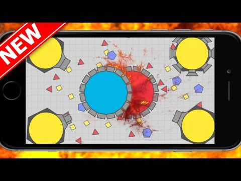 Diep.io Mobile Mothership Destruction  Domination Control -