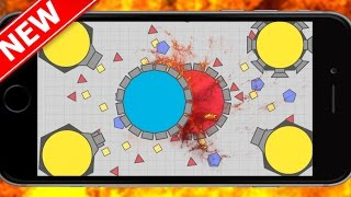 Diep.io Mobile Mothership Destruction  Domination Control - New Update/New Game Modes!!