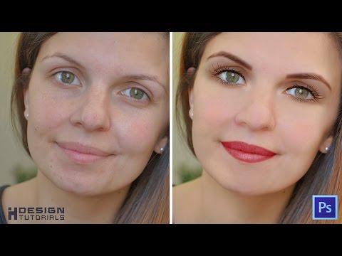 Easy Digital Make Up Tutorial in Photoshop CS6