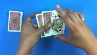 Truco de magia - La carta mentirosa